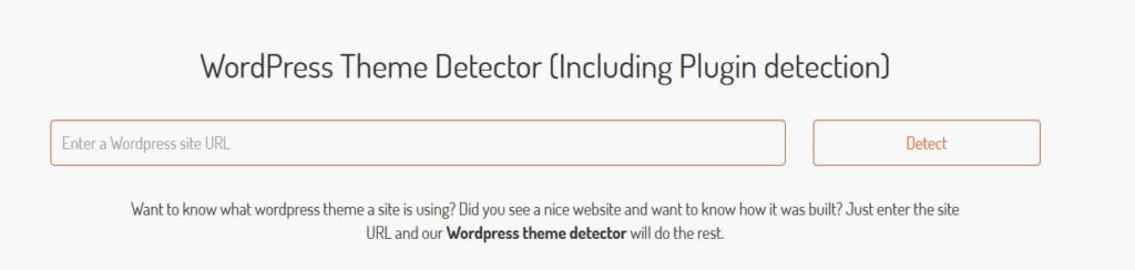 Scan WP WordPress Theme Detector